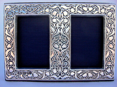 Delightful Finest Quality 999 Hallmarked Silver London & Britannia Photo Frame.