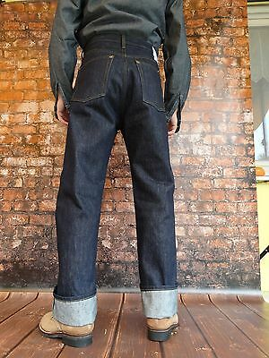 Quartermaster Denim Jeans 30-40er Jahre Style Rockabilly Vintage Denim Trouser
