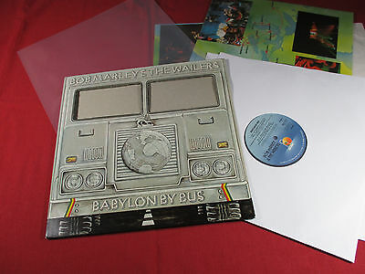 Bob Marley  BABYLON BY BUS  -  Island ISLD 11 - 2 LP-Set UK 1978 near mint