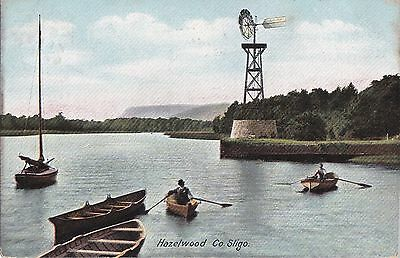 sa irish postcard ireland sligo hazelwood