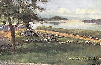 sa irish postcard ireland clare holy well at killaloe