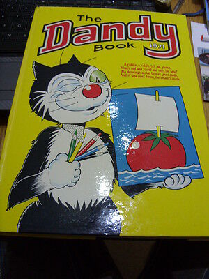 The DANDY Annual-1971-Unclipped-No Name-Very Good Condition