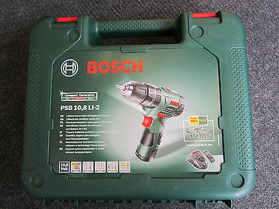 Genuine Empty Carry Case for Bosch PSR 1080 LI Cordless Lithium-Ion Drill Driver