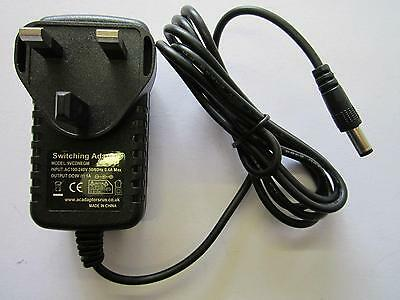 9V Negative Polarity AC Adaptor POWER SUPPLY for ROWIN GUITAR LOOPER PEDAL