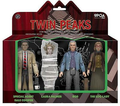 Funko Action Figures Twin Peaks 4 Pack