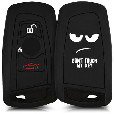 Silicone Cover For Bmw 3-Button Remote Car Key (Only Keyless Go) Protective Case