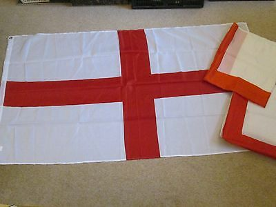 England St George White & Red Cross Flag x3 large