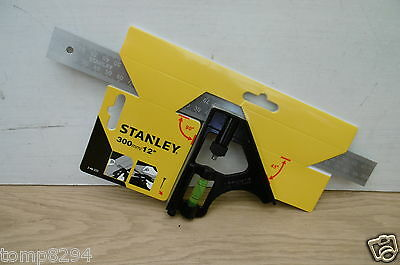 "Stanley 300Mm 12"" Carpenters Combination Square 246222 2 46 222"