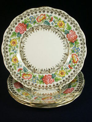 Royal Standard Indian Summer Side Plates X 4