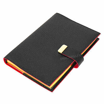 Faux Leather A5 Lined Journal Ivory Colour Paper Notebook 380 Page Diary Book