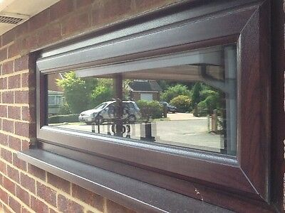 Brown Double Glazed Window