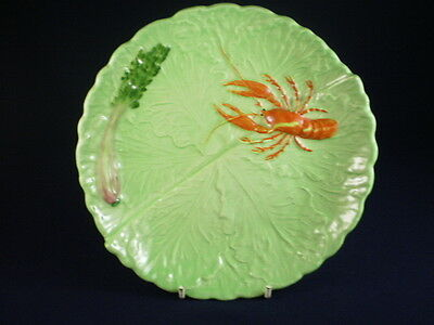 Carlton Ware Red Lobster Green Dish