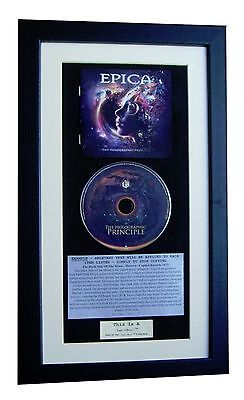 EPICA Holographic Principle CLASSIC CD Album TOP QUALITY FRAMED+FAST GLOBAL SHIP