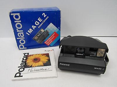 Polaroid Image 2 Instant Film Camera Large Boxed with Manual - TRO H48