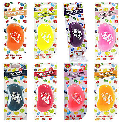 Jelly Belly 3D Car Air Freshener - All Flavours X8 Combo Pack - Air Freshner New