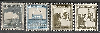 Palestine 1927 Pictorial 10M 13M And 20M - 2 Shades
