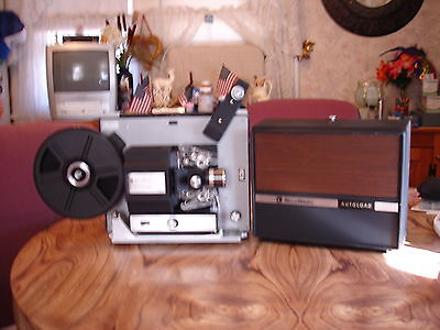 Bell & Howell Super 8mm Movie Projector Model 461 Autoload