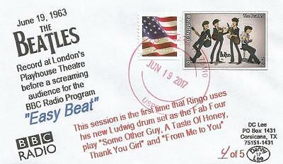 """19 JUN '63 Beatles Record Gig for BBC Radio Show """"East Beat"""" #5 of 5 Cover"""
