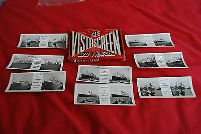 Nicely Boxed Vistascreen With 8 Cards Form The Series 47  Ocean Liners