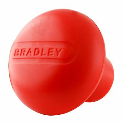 Bradley Spare Jockey Wheel Handle Red Plastic Knob / Fits 14mm Shaft BRD09