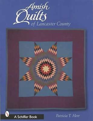 Amish Quilts of Lancaster County Book Antique Vintage Patterns