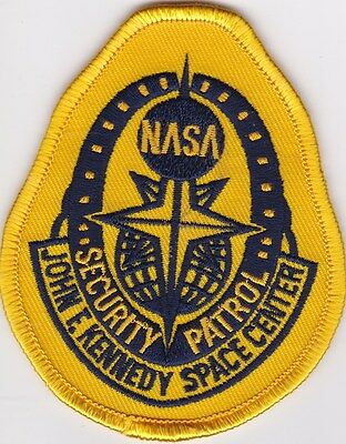Original Nasa John F. Kennedy Space Center Security Patrol 3 1/2X 3 Inch