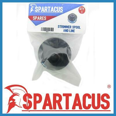 Spartacus Spool and Blue Strimmer Trimmer 1.5mm x 8m Single Line for Many Brands