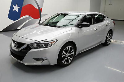 2016 Nissan Maxima  2016 NISSAN MAXIMA 3.5 S NAVIGATION REARVIEW CAM 35K MI #437448 Texas Direct