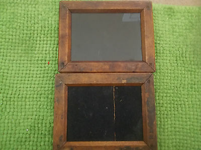 TWO Vintage Wooden Contact Printing Frames Photography Camera Bargain BiN