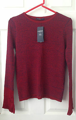 Ribbed Jumper size 10 RRP £29.50 Limited Edition  M&S