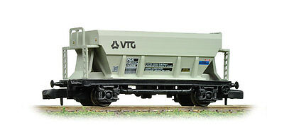 Graham Farish N Gauge 373-032A PGA Aggregate Hopper Wagon VTG Light Grey