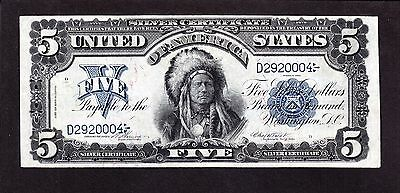 US 1899 $5 Chief Silver Certificate FR 273 VF-XF (-004)