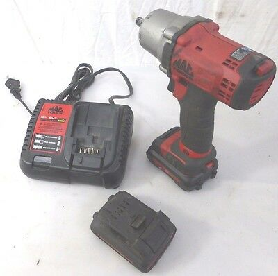 Mac Tools BWP038 12v Cordless Impact W/ 2 Batteries & Charger