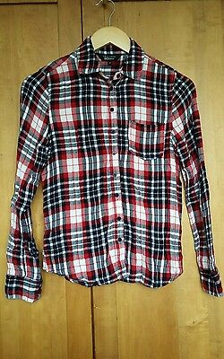 Age 13 New Look checked girls shirt
