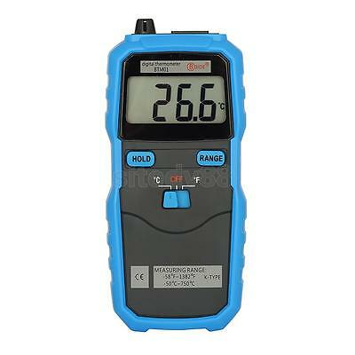 K Type Digital Thermocouple Thermometer Single channel LCD Backlight Display