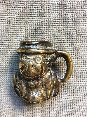 Miniature Brass Toby Jug 'Pickwick'.