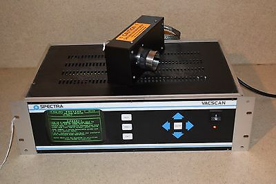 Spectra Vacscan Lm2-93054-1D2 Gas Analyzer W/ Lm10-03992005 Rf Head (2Z)