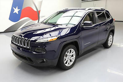 2016 Jeep Cherokee  2016 JEEP CHEROKEE LATITUDE REAR CAM BLUETOOTH 17K MI #243222 Texas Direct Auto