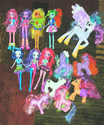 Large Lot Of My Little Pony & Equestria Girls