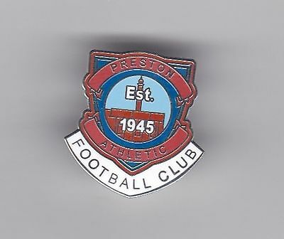 Preston Athletic  (Scottish Lowland League)  - lapel badge