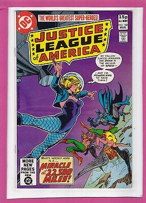 """Justice League Of America #188_Mar 1981_Very Fine+_""""miracle At 22,300 Miles""""_Uk!"""