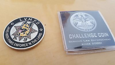 Las Vegas Police Department K-9 Challenge Coin