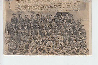 New Zealand Military group WW1 era with all names