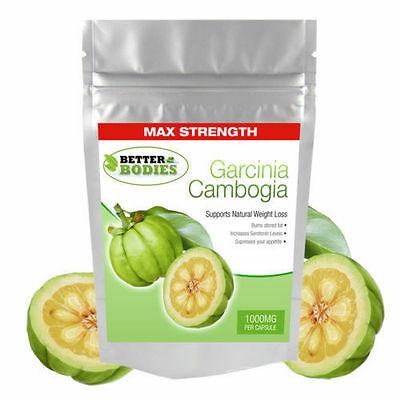 120 Garcinia Cambogia Pure Detox Slimming & Weight Loss Fat Burn Capsules