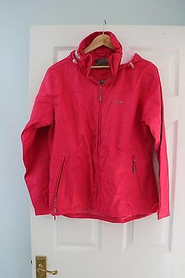 REGATTA Ladies Pink Isotex Lightweight Breathable Waterproof Jacket Size16