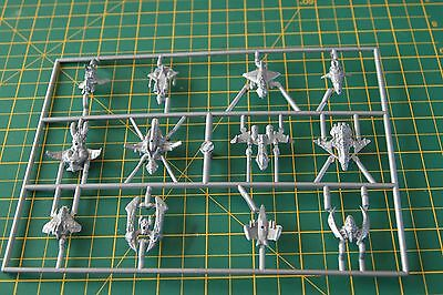 SILENT DEATH  or Epic 40K - SPACE SHIPS / FIGHTERS - New on Sprue