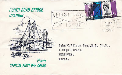 GB 1964 Opening Of The Forth Road Bridge FDC