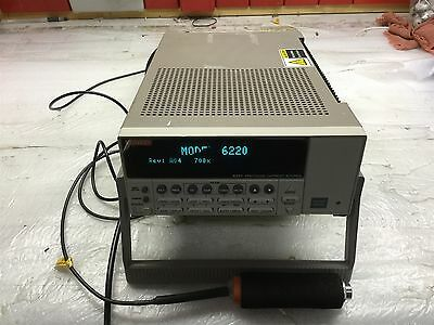Keithley 6220 DC Precision Current Source / Sink / Sweep .1pA-105mA Triax Cable