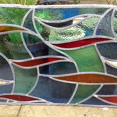 Large Stained Glass Panel ( More Available)