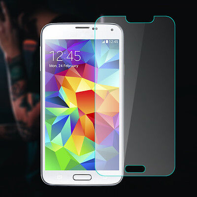Ultra Slim Premium HD Tempered Glass Screen Protector For Samsung Galaxy S5 G900